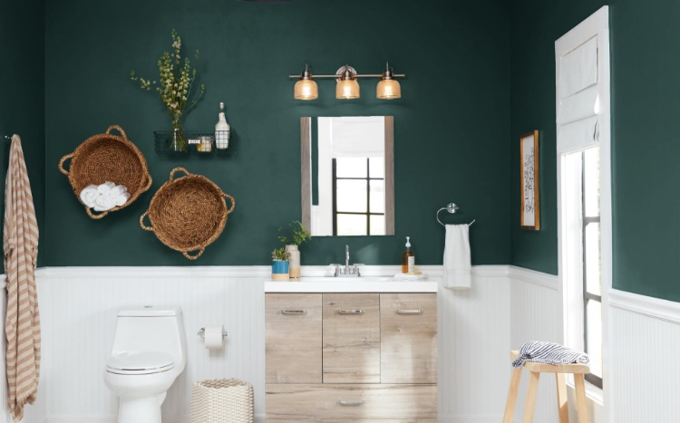 Bathroom Paint Colors - The Home Depot