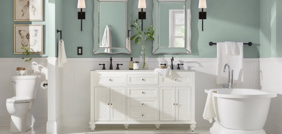 bathroom paint colors the home depot rh homedepot com home depot bathroom vanity paint home depot bathroom vanity paint