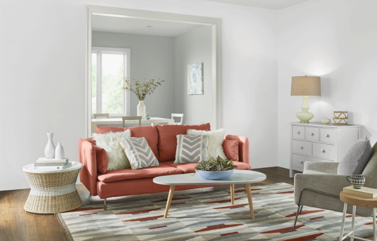 Living Room Paint Colors & Living Room Paint Colors - The Home Depot