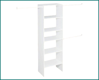 Wood Closet Systems starting at $89