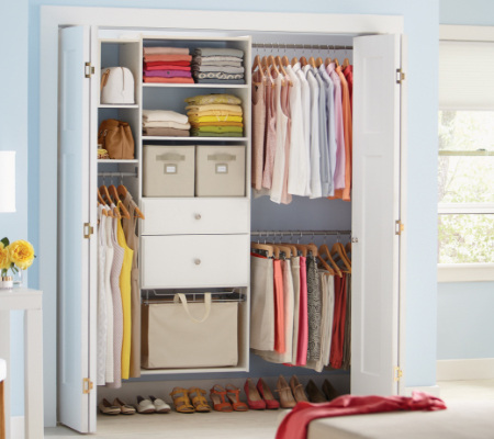 Closet Organizers The Home Depot Awesome Small Bedroom Closet Organization Ideas Concept Remodelling