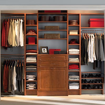 Attractive Wood Closet Systems