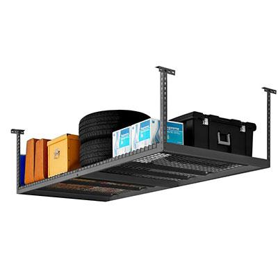 Ceiling Mounted Racks  sc 1 st  The Home Depot & Garage Storage: Shelving Units Racks Storage Cabinets u0026 More at ...