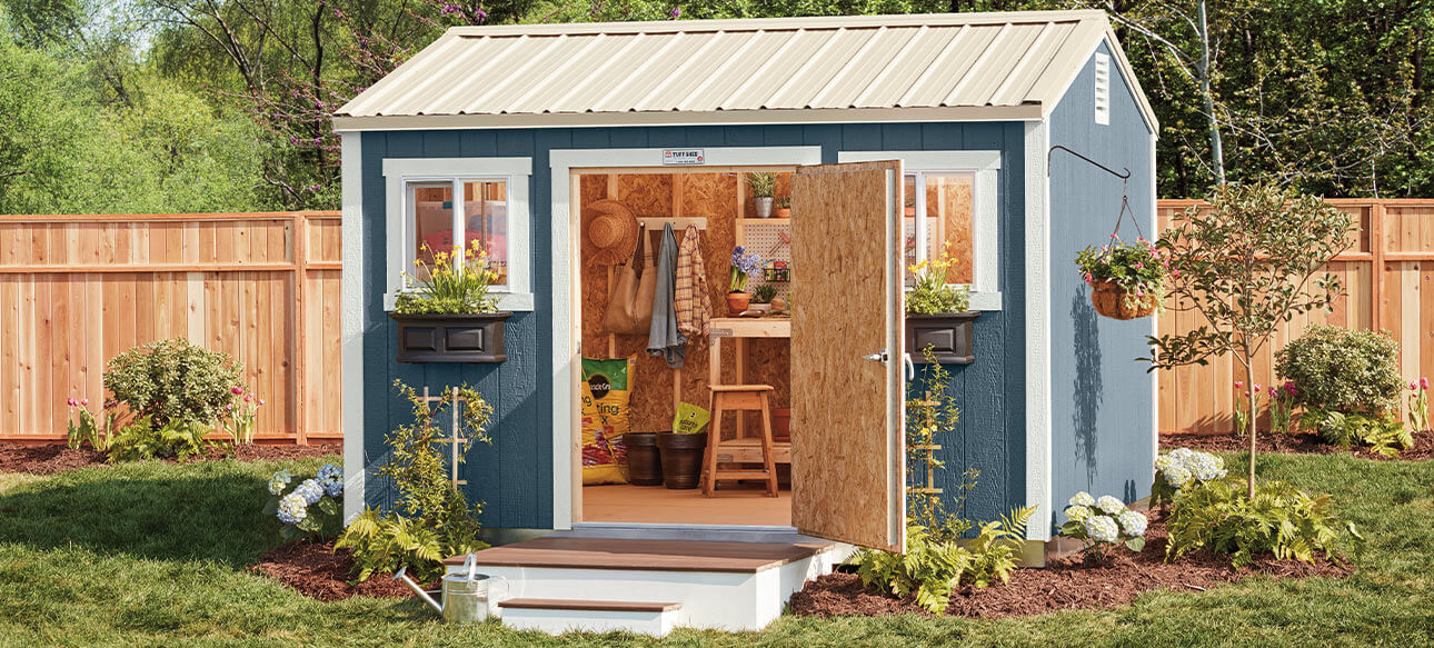 Sheds Garages Outdoor Storage The Home Depot