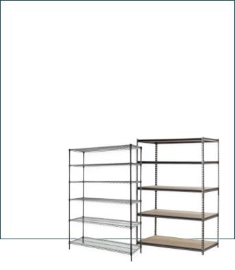 Shelves ceiling racks