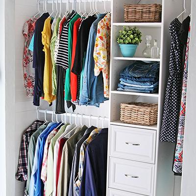 High Quality Installing A Closet Organizer System