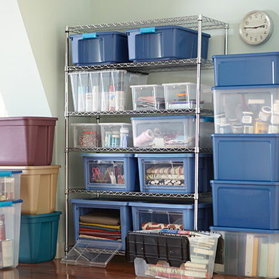 storage and organization at the home depot