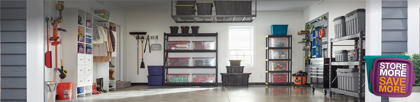Up to 25% off select storage solutions. Organize and maximize with easy and affordable storage.