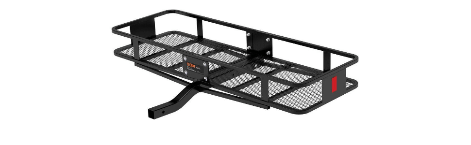 Black Rooftop Cargo Net Set 47 x 36 Stretches to 70 x 52 with 18 Adjustable Hooks for Car Roof Rack Basket Truck Bed Rear Netting