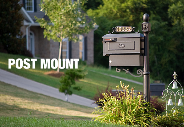 Fantastic Mailboxes - Mailbox Posts - The Home Depot QH71