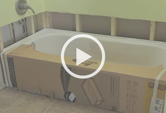 How To Remove And Replace A Bathtub At The Home Depot - Bathtub removal and installation cost