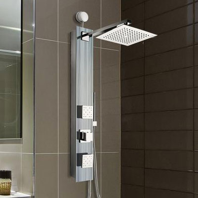 Shower Towers Combine Valves, Body Sprays, Handheld Sprays And Water Jets  Into A Complete Multi Angle, High Performance Shower.