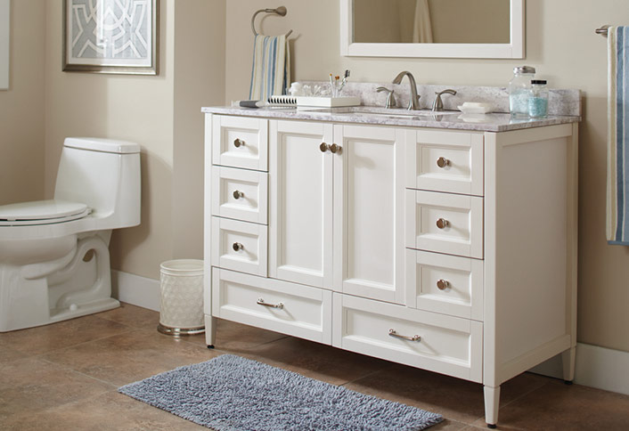 Update Your Vanity Top And Cabinets