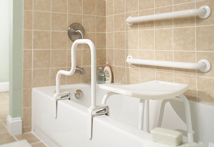 Combine Style With Bath Safety