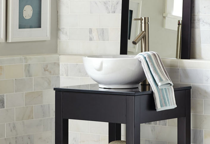 Guide To Choosing Bathroom Countertops And Vanity Tops From The Home - Best countertops for bathrooms