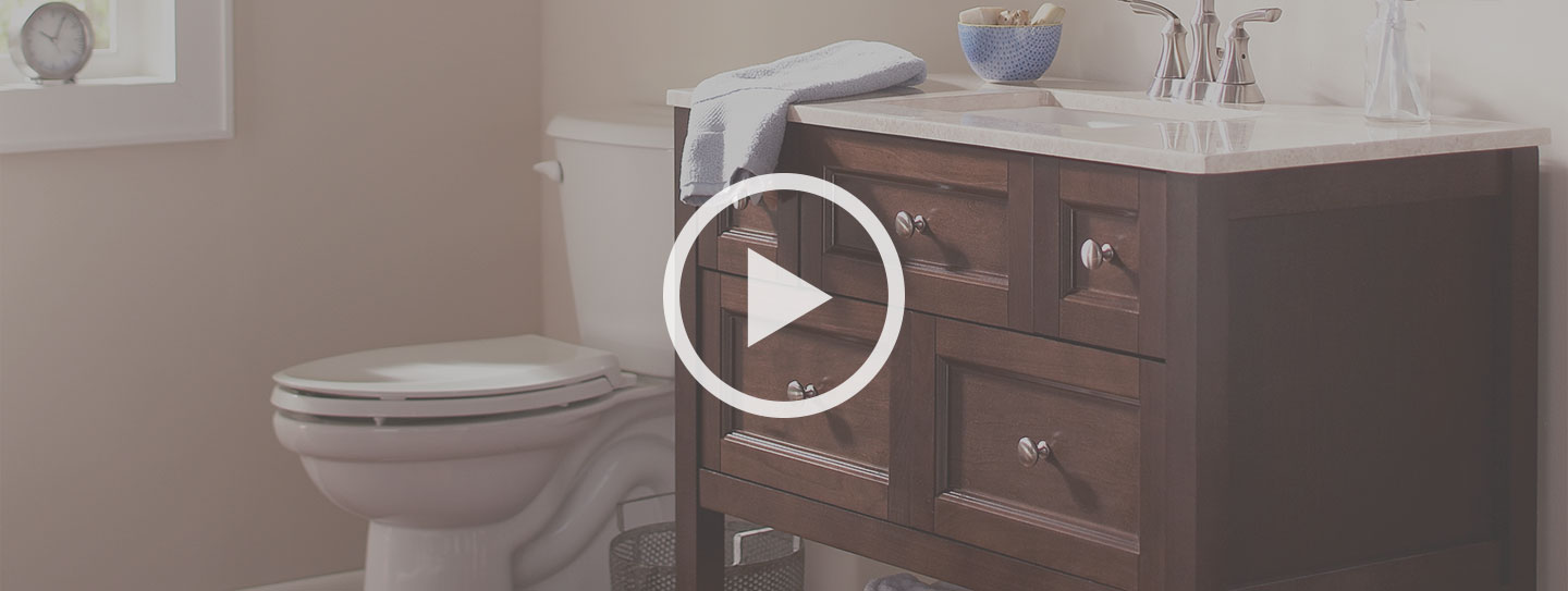 How To Install A Bathroom Vanity Awesome A Bathroom