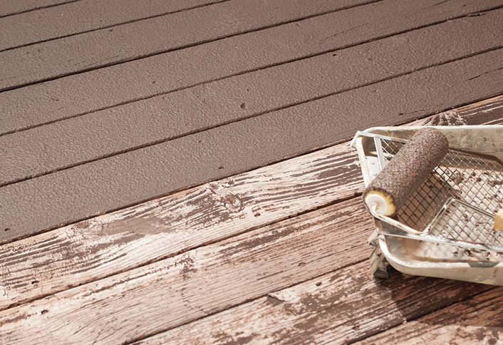Seal And Stain Pressure Treated Deck At The Home Depot