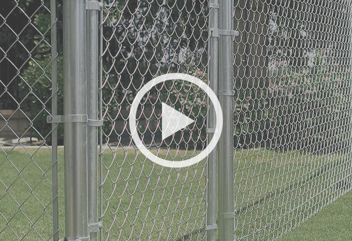 Guide to Installing a Chain-Link Fence at The Home Depot