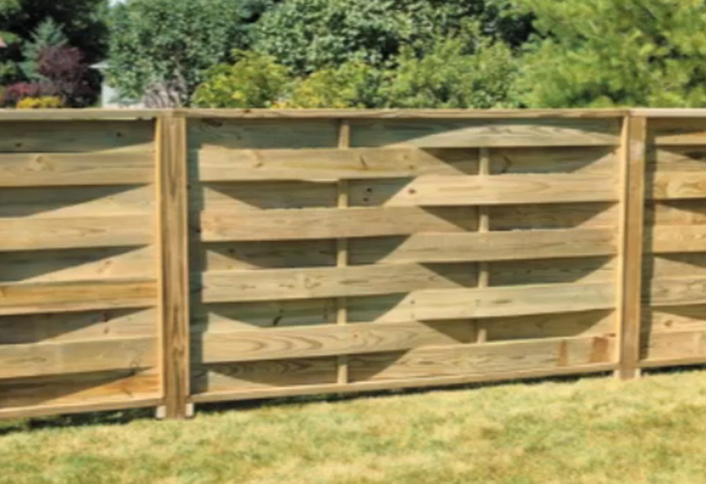 Lovely Making Basket Weave Fence