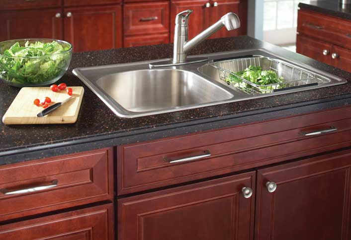 Install garbage disposal - Affordable Kitchen Updates