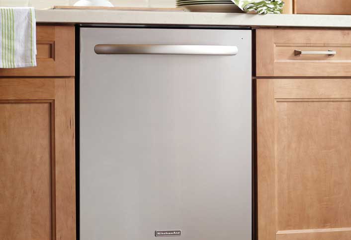 Install new dishwasher - Affordable Kitchen Updates