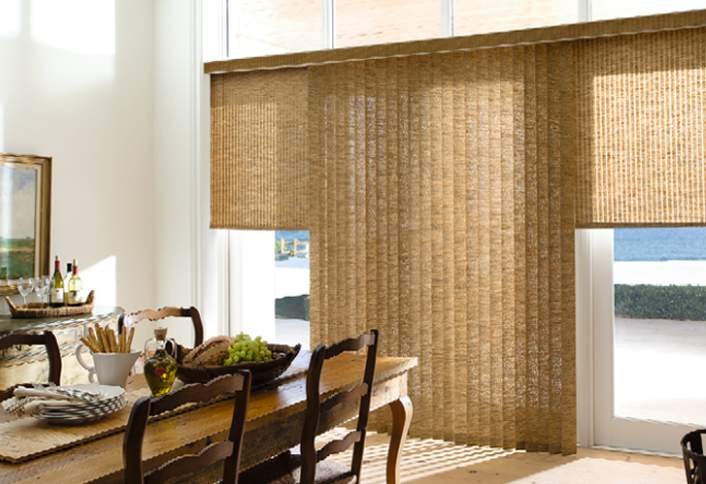 Sliding Glass Doors With Vertical Blinds How To Install