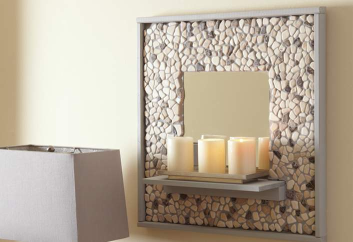 make your own bathroom mirror frame how to make a mosaic tile mirror at the home depot 25601