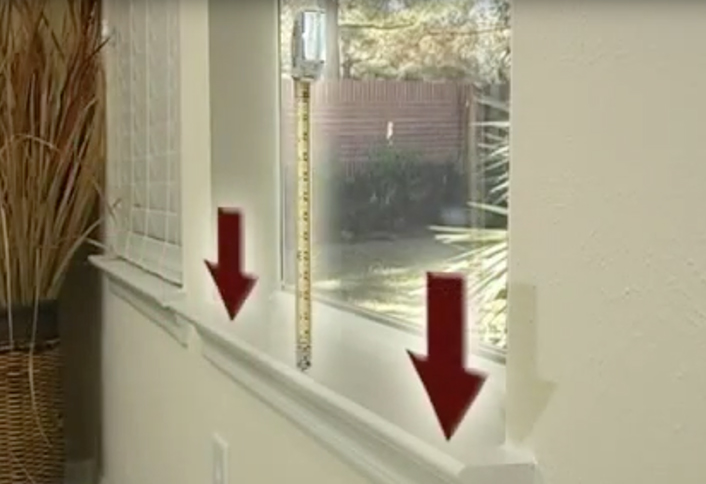 Measuring outside mount - Measure Vertical Blinds Alternatives