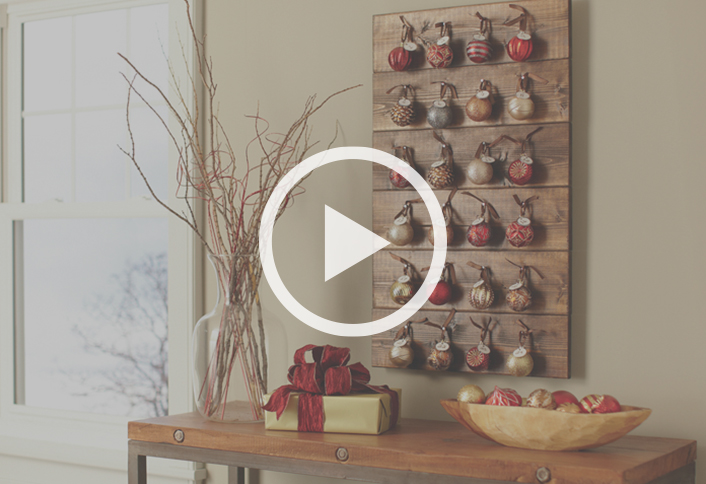 How to make a christmas advent calendar at the home depot countdown to christmas with this diy advent calendar solutioingenieria Image collections
