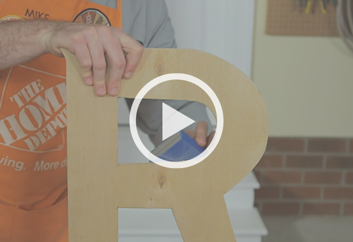 how to make sandpaper letters at home