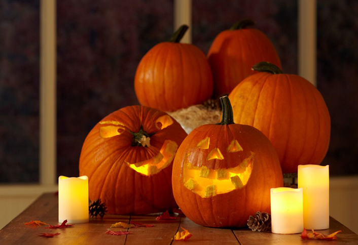 Pumpkin carving tips at the home depot carved jack o lanterns maxwellsz