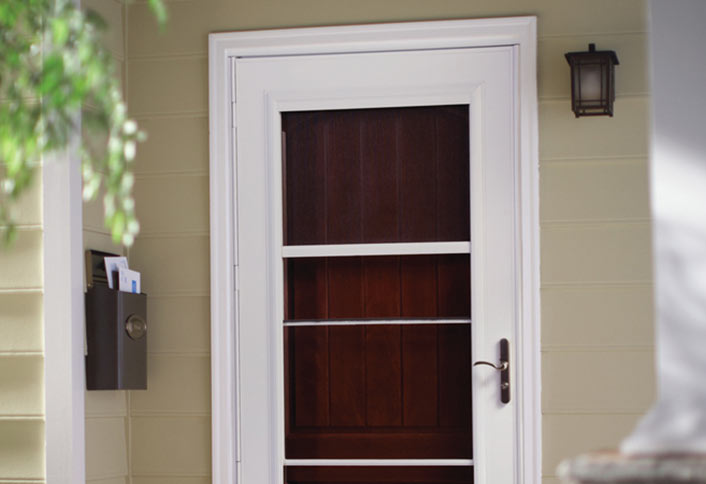 Attractive Installing A Storm Door