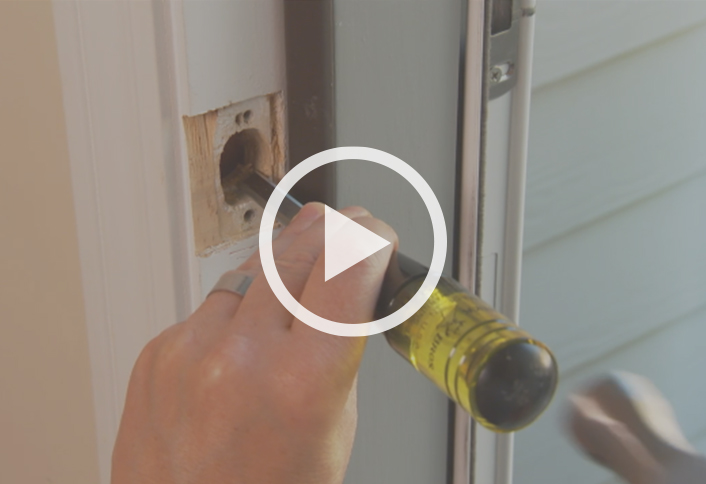 How To Change A Door Lock The Home Depot