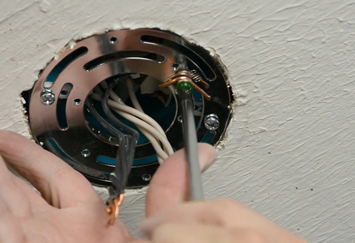 How To Add a Wall Switch to a Ceiling Fixture at The Home Depot