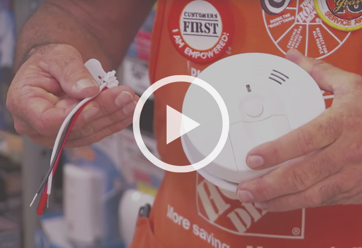 How To Install A Smoke Detector At The Home Depot