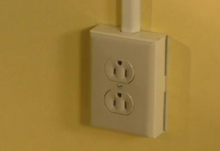 Install Electrical Outlet Above Existing Outlet: How To Extending Power to Outlets with Metal Raceway at The Home Depotrh:homedepot.com,Design
