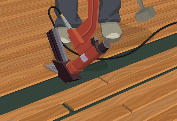 and installing engineered difference floor vs hardwood solid flooring