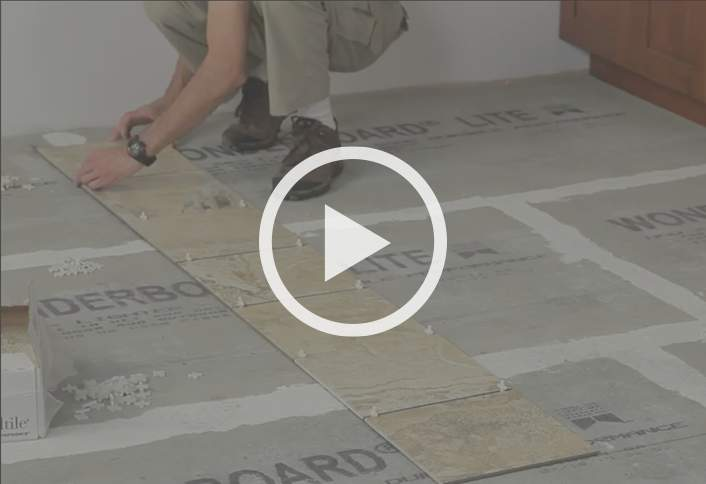 Install Ceramic And Porcelain Tile Flooring