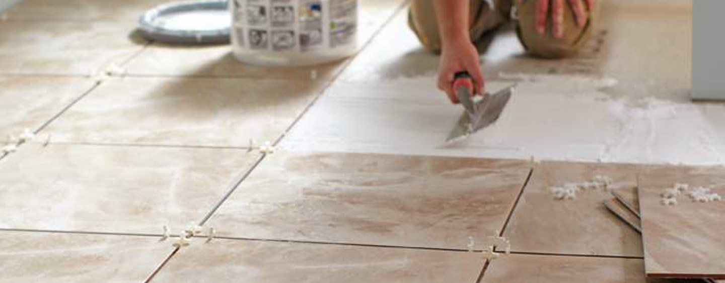 How to grout tile floors at the home depot grouting is the process of filling the spaces in between tiles most options come in powder form but premixed containers are available as well dailygadgetfo Images