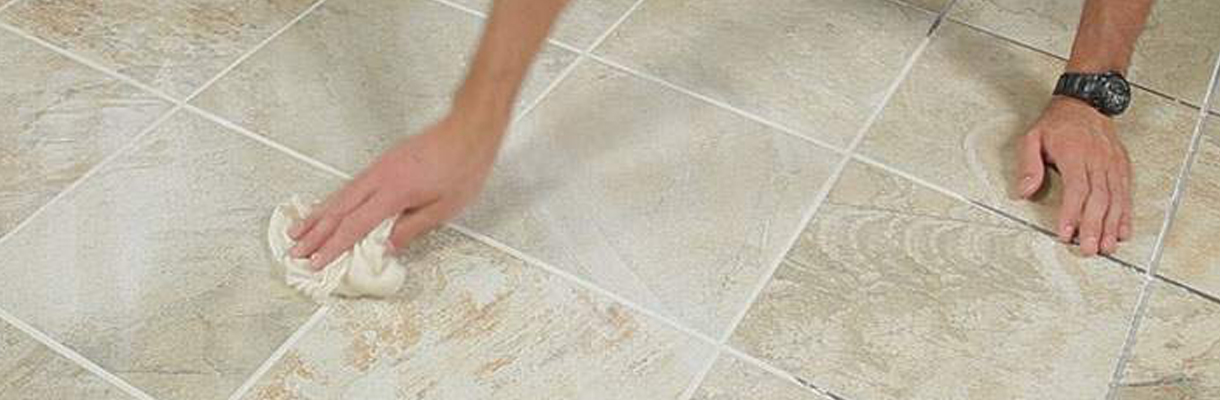 How To Grout Tile Step 5
