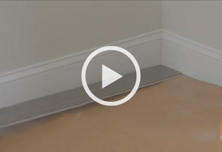 Install First Row Laminate Flooring