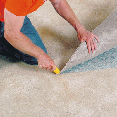 Strips depot carpet tackless home