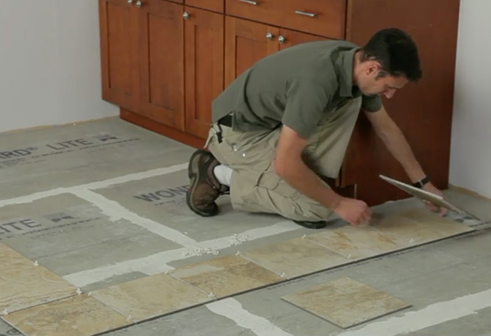 How To Lay Out Tile At The Home Depot