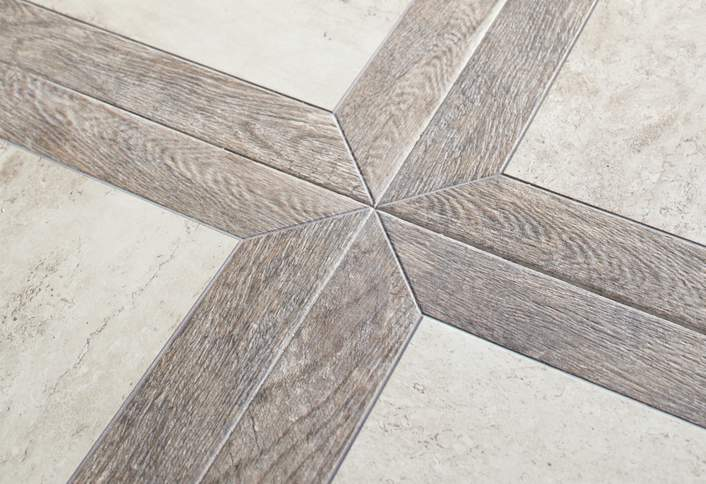 Lay Out The Tile Floor Pattern At The Home Depot Enchanting Tile Floor Patterns