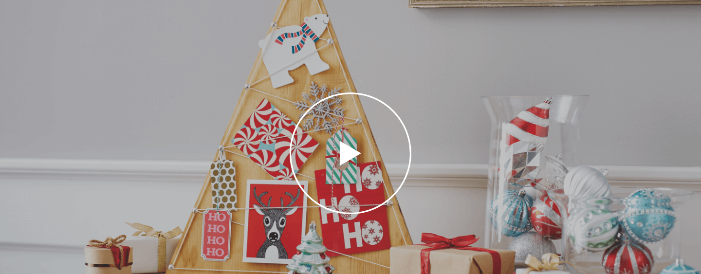 How to Build a Holiday Card Display - The Home Depot
