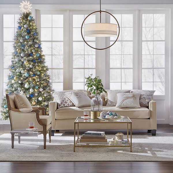 Christmas decorating ideas the home depot - Christmas decorations for the living room ...