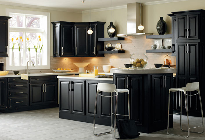 Low cost kitchen cabinet updates at the home depot for Home depot kitchen cabinets design