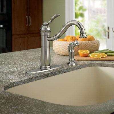 Single Bowl   Kitchen Sinks Buying Guide