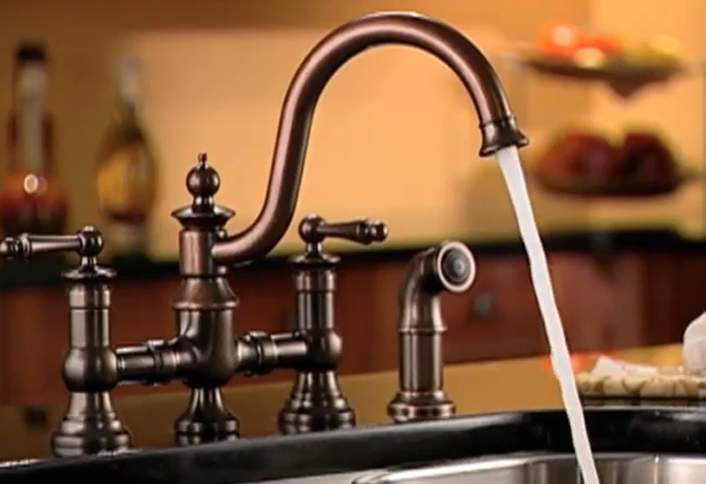 Installing A Kitchen Faucet And Side Sprayer At The Home Depot - Home depot kitchen faucets with sprayer