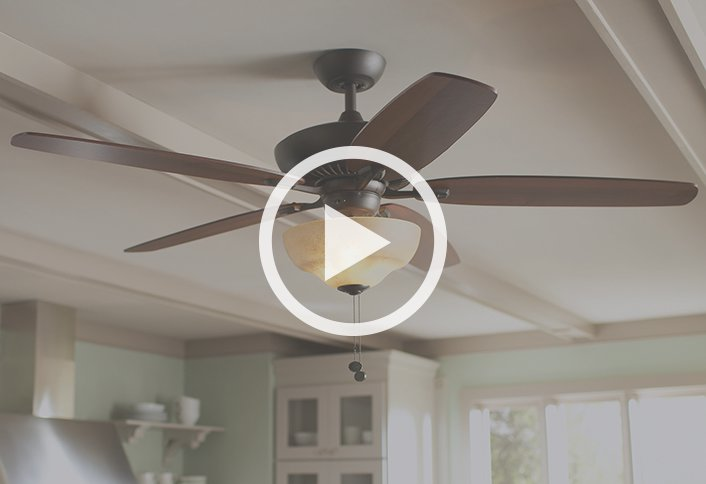 Buying guide ceiling fans and accessories at the home depot aloadofball Image collections